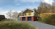 Novostavba rodinného domu v Podještědí